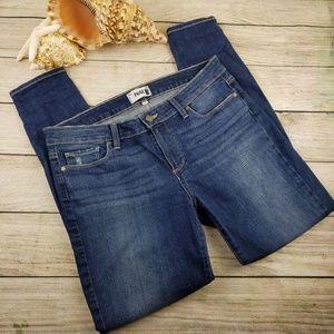 Paige Verdugo Ankle skinny jeans distressed Sz 32